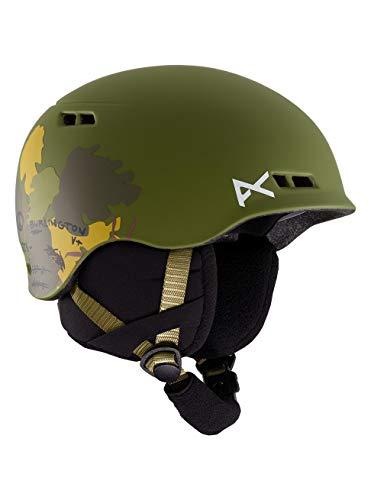 Anon Jungen Burner Snowboard Helm, Camo, LXL