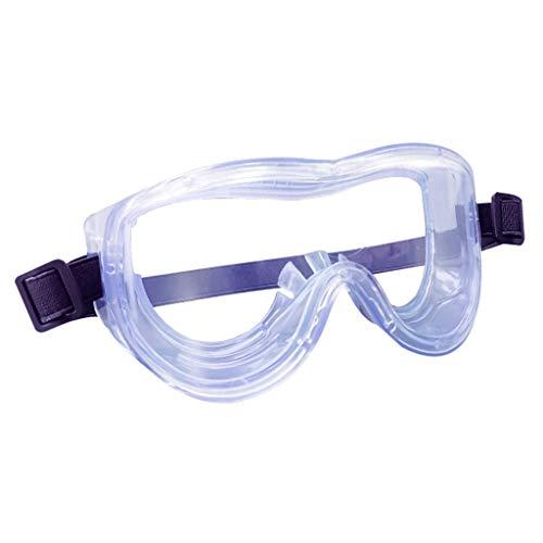 Aoyo Medizinische Brille Anti-Virus Anti-Fog-Breathable Glasses Transparent Isolation Anti-Fog-Schutzbrille