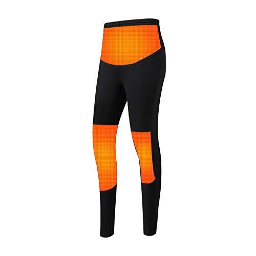 Sasstaids Pantaloni riscaldati Pantaloni riscaldanti elettrici USB 5V per Uomo Donna Pantaloni riscaldanti Invernali all'aperto