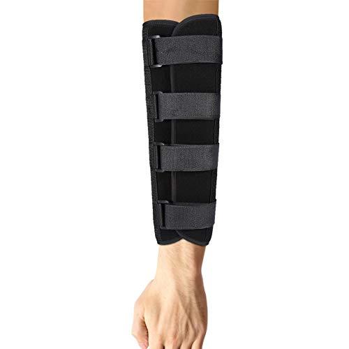 Ellbogenstütze, Armschienenstütze für Schmerzlinderung beim Kubitaltunnelsyndrom und Arthritis, Stabilisatorstütze für den festen Ellbogen, Nachtstabilisator-Stützhülsen, beide Arme und Unisex(M)
