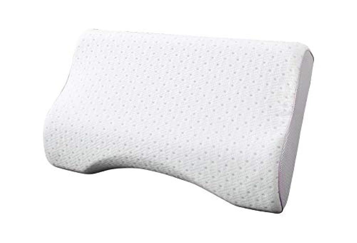 申し立てる電信十二消臭機能 枕 高反発タイプ パープル