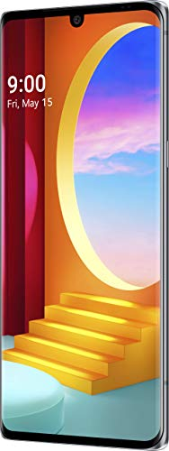 LG Velvet 5G Smartphone 128 GB (17,27 cm (6,8 Zoll) POLED-Display mit Notch, Triple-Hauptkamera,3D-Sound, IP68 und MIL-STD-810G, Android 10), Aurora Grau