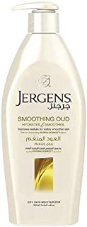 Jergens Smoothing Oud Dry Skin Moisturizer 400 ml, Pack of 1