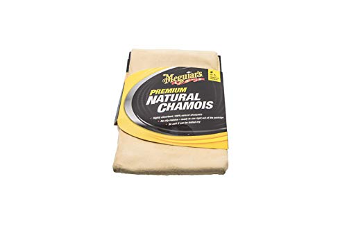 Meguiar's Car Care Products Meguiar's X2100 Chamois, Panno Assorbente in Camoscio Naturale
