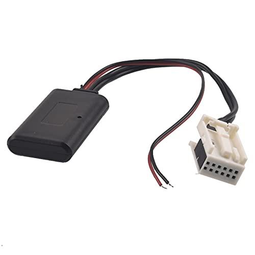 AutOcean Adaptador AUX Bluetooth para Coche, Cable estéreo de Radio inalámbrico RD4...