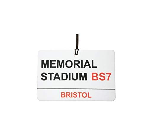 Bristol Rovers/Memorial Stadium Street Sign Car Air Freshener