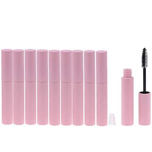 SevenMye 10 Stück 10 ml Leere Eyeliner Mascara Lippenbalsam Flasche Kosmetik Container Reise...