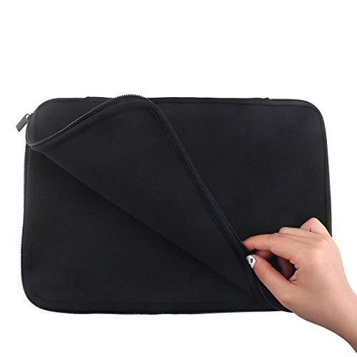 17-17.3 Neoprene Gaming Laptop Sleeve Case Bag for HP Envy, Pavilion/DELL Inspiron 17 7000 2-in-1, G7 17, Alienware/Lenovo ThinkPad P72, Ideapad/ASUS/Samsung/MacBook/Chromebook