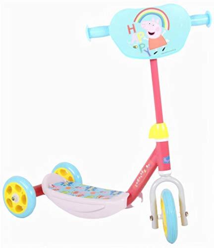 Peppa Wutz Pig Kinder Roller Trettroller Dreirad Scooter