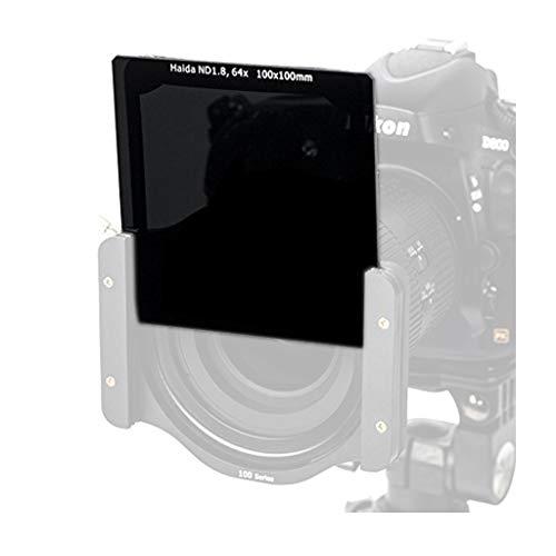 Haida ND64 - Filtro de Densidad Neutra de Cristal óptico Cuadrado (100 mm, ND1,8, 64 x 100, Compatible con Z)
