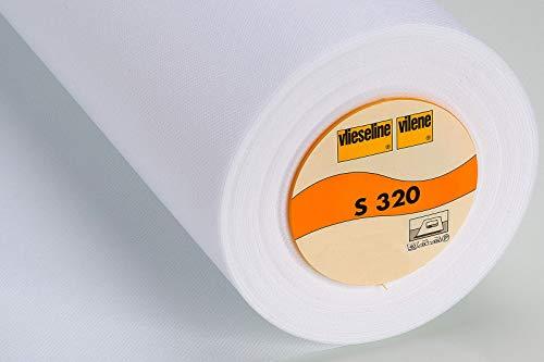 Schabracken-Einlage S320 fixierbar 40cm weiß 25 m FREUD