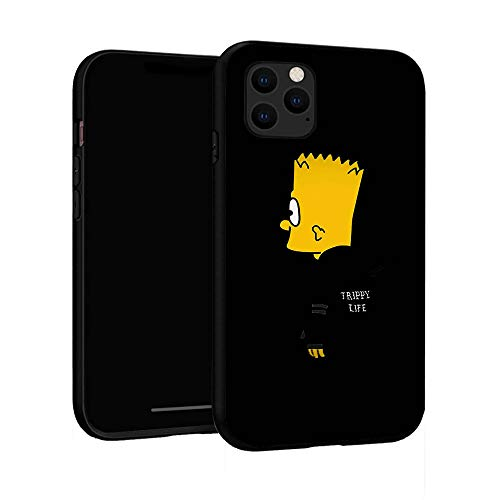 iPhone 11 Case 6.1 inch, Cover iPhone Case (Bart-Simpson)