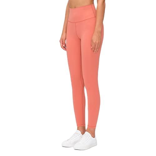QTJY Pantalones de Yoga Ajustados con Cintura Alta para Mujer, Pantalones Sexis y Suaves para Correr, Pantalones de Entrenamiento para Celulitis, Push-ups, J L