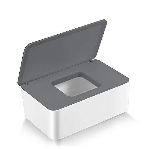 Feuchttücher-Box,Baby Feuchttücherbox,Baby Tücher Fall,Toilettenpapier Box,Tissue Aufbewahrungskoffer,Taschentuchhalter,Kunststoff Feuchttücher Spender,Tücherbox,Serviettenbox (Z-F)