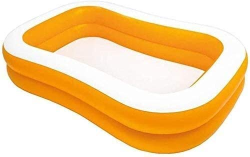 RTUHRJLXJ Pool Collapsible Pool, Children's Games Baby Toys 229 147 46 cm Age 3~9-Year-olds