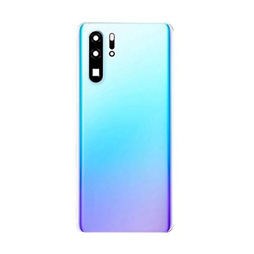 RKRLJX Carcasa de telefono El Teléfono Original Trasera Cubierta Cristal Cubierta Batería Fit For Huawei P30 Pro Reparación Piezas Repuesto Cristal Vivienda (Color : Breathing Crystal)