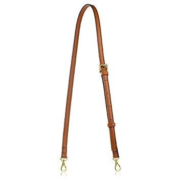 Allzedream Leather Purse Strap Replacement Crossbody Handbag Long Adjustable  Brown