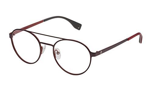 Converse VCO068Q500597 Gafas, Gun W/Red Parts, 50/20/145 para Hombre