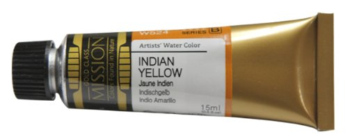 Mijello Mission Gold Water Color, 15ml, Indian Yellow