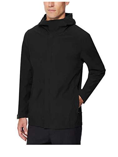 32 DEGREES Men's Rain Jacket (Black, XX-Large)