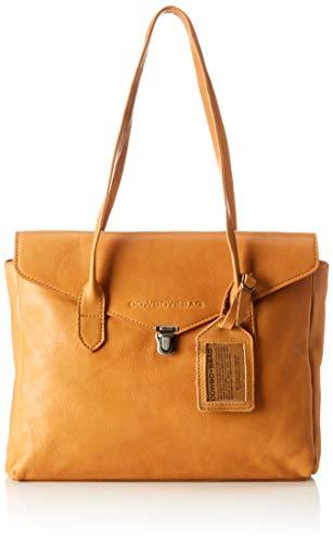 Cowboysbag Damen Bag Remi Henkeltasche, Gelb (000460-Ochre), 17x25x34 cm