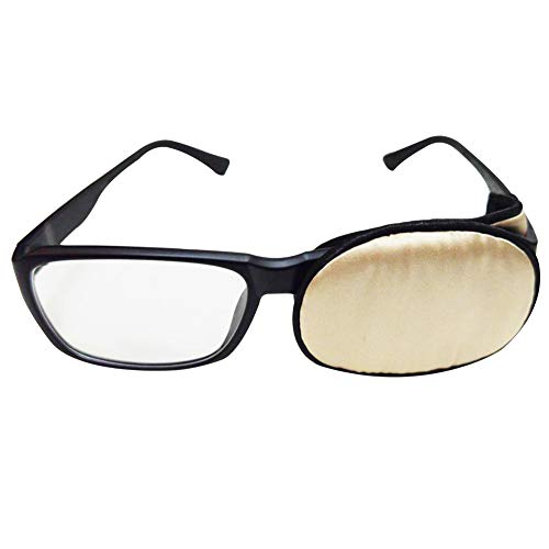 Sehschwäche für Kinder und Erwachsene, Sehschärfe, Sehschwäche, Strabismus, korrigiert, faule Augenklappen für Brille – Champagner