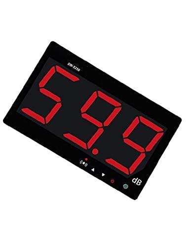 METER DE NIVEL SONIDO SW525B Pantalla LCD Tipo de colgante de pared Decibel Lector de tarjetas de medición de medición de ruido