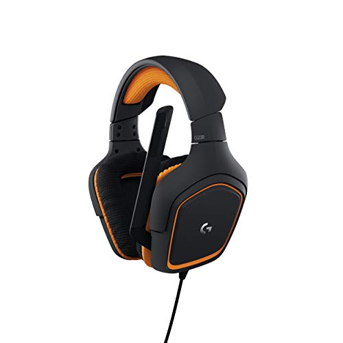 Logitech G231 Prodigy Stereo Gaming Headset with Microphone for Game Consoles, PCs, Tablets, Smartphones (981-000625)