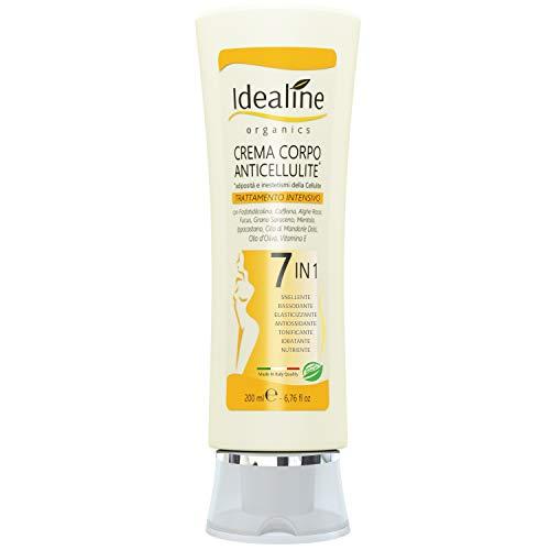 Crema Anticellulite Ultra Intensiva 7in1 BIO Brucia Grassi Rassodante Corpo Snellente 200ml Idealine