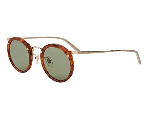 Gucci Occhiali da sole GG0674S 003 occhiali Uomo colore Havana lente verde taglia 44 mm