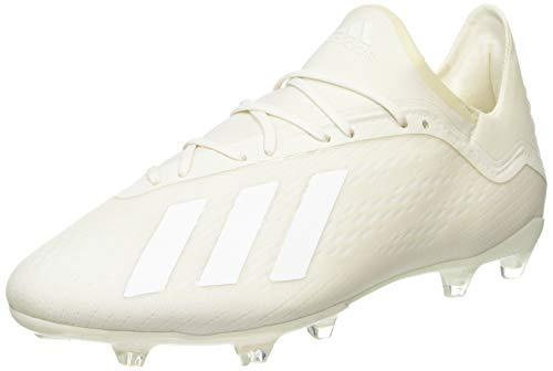 adidas Herren X 18.2 Fg Fußballschuhe, Weiß (Off White/Ftwr White/Core Black), 46 2/3 EU (11.5 UK)