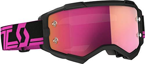 Scott Fury MX Works - Gafas de ciclismo, color negro, rosa y...