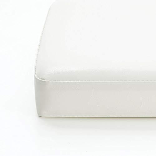 MOTT - Cuscino per panca da giardino in pelle di lusso, per sedia lunga, impermeabile, per patio, dondolo, 2, 3 e 4 posti, rimovibile