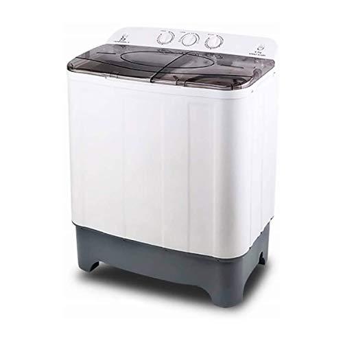 XLH Mini portátil Lavadora Doble Tina Mini eléctrico Compacto 8.8kg Gran Capacidad...