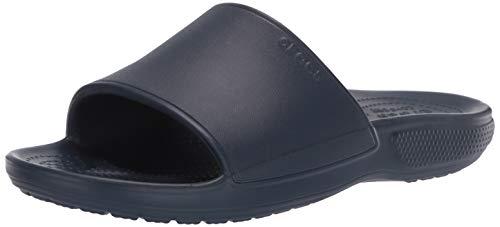 Crocs Classic II Slide, Scarpe da Spiaggia e Piscina Unisex-Adulto, Blu (Navy 000), 46/47 EU