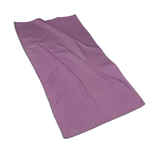AOOEDM Toalla de Mano/Toalla de baño/Toalla de Playa de Secado rápido Suave súper Absorbente de Color sólido Fucsia Antiguo Towel, 27,5 x 17,5 Pulgadas