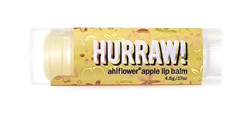 ハーロウ! バーム(HURRAW!BALM) ハーロウ! バーム アヒフラワーアップル 日本正規品 リップクリーム ゴールデンアップル 無色 4.8g