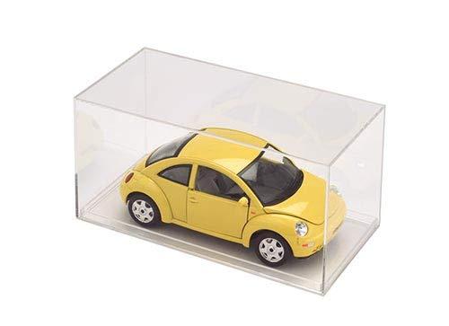 "Pioneer Plastics Acrylic Cse 1:64 Scale Cars 3.5/"" x 1.75/"" x 1.625/"" Mirrored"