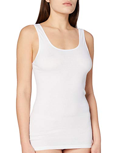 Triumph Katia Basics Shirt02 (1PL36) Camiseta Tirantes, Weiß (White 03), 38 para Mujer