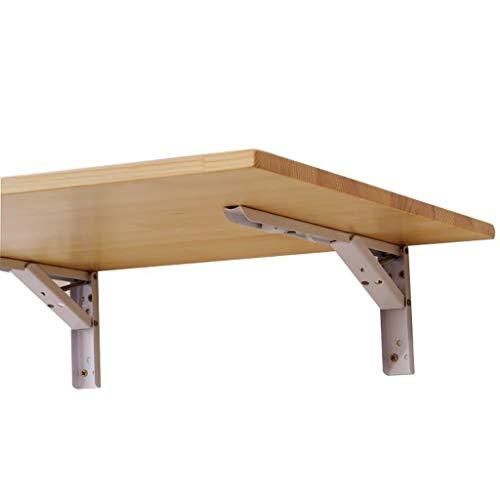 Tische Wandtisch Klapptisch for Wandmontage, klappbarer Holztisch, platzsparend, einfach zu klappen, stabile, robuste Konstruktion, Klapptisch for Wandmontage (Größe : 70cm×30cm)