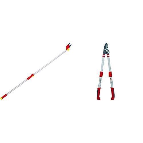 WOLF-Garten - 2-schneidige Baumschere POWER DUAL CUT RR 200; 73ACA001650 & Amboss Astschere »Premium Plus« POWER CUT*** RS 900 T; 73AGA009650