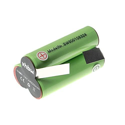 vhbw Batería NiMH 2000mAh (3.6V) para aspiradora robot autónomo de limpieza AEG/Elektrolux...