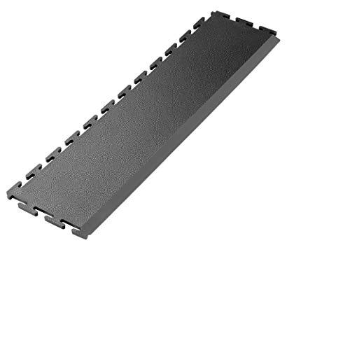 Graphit Garagenbodenrampe - K490 Verriegelung Werkstatt, Turnhalle PVC Bodenfliesenrampe (Preis pro Rampe)