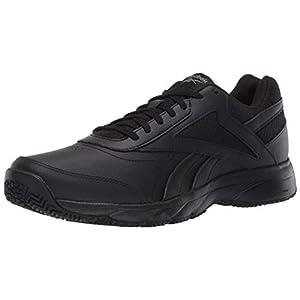 Reebok Men's Work N Cushion 4.0 Walking Shoe, Cold Grey/Black, 10