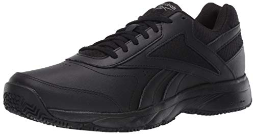 Reebok mens Work Cushion 4.0 Walking Shoe, Cold Grey/Black, 10.5 US