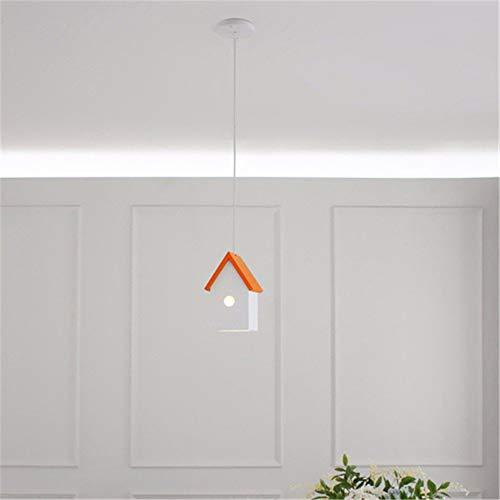 BAIJJ hanglamp kinderkamer creatieve persoonlijkheid kroonluchter jongen meisjes slaapkamer boek kamer lampen en lantaarns, D