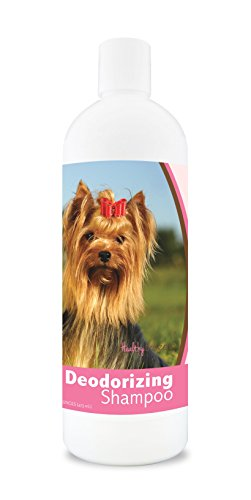 Healthy Breeds Deodorizing Dog Shampoo For Yorkshire Terrier, Golden Brown - Over 200 Breeds - Hypoallergenic Formula - For Itchy, Sensitive, Dry, Flaking, Scaling Skin And Coat - 16 Oz