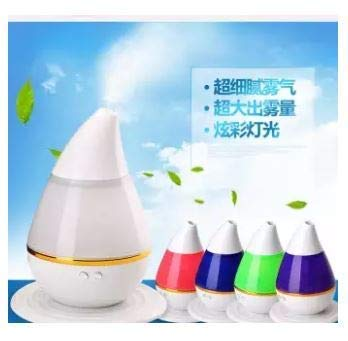 Mini USB Charging Ultrasound Atomization Humidifier Aromatherapy Humidifier Atomizer Car/Office/Room Air Purifier - with Colorful Gradient Light, Color May Vary