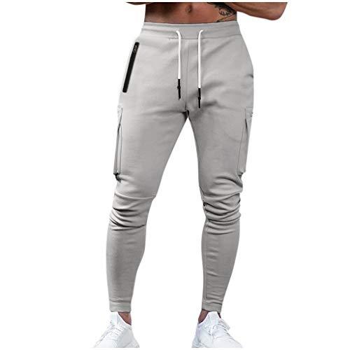 MINIKIMI joggingbroek grote maten heren slim fit sportbroek fitness joggers en training streetwear chino jogger broek met 6 zakken