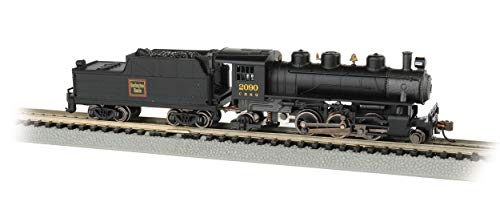 Prairie 2-6-2 Steam Locomotive & Tender - CB&Q #2090 - N Scale